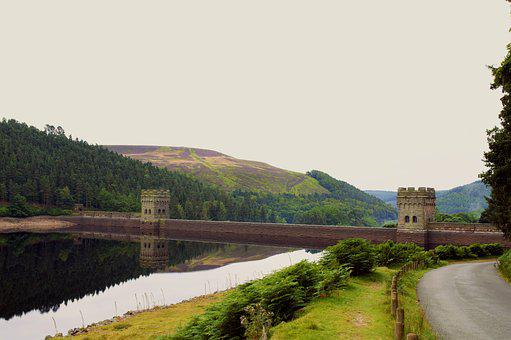 Peak District, Reservoir, Howden Reservoir, Dam