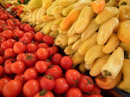 Hungarian Vegetable, Market Hall Of Budapest