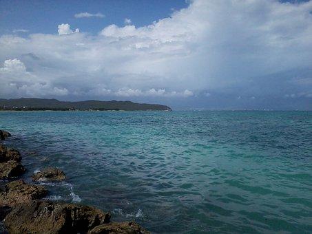 Jamaica, Sea, Island, Water, Tropical, Ocean, Beach