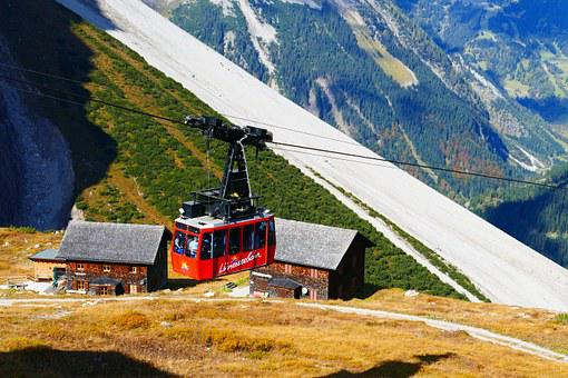 Gondola, Cable Car, Luenersee, Mountain Railway