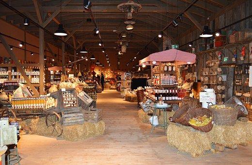 Market Hall, Farmer's Market, Shopping, Food