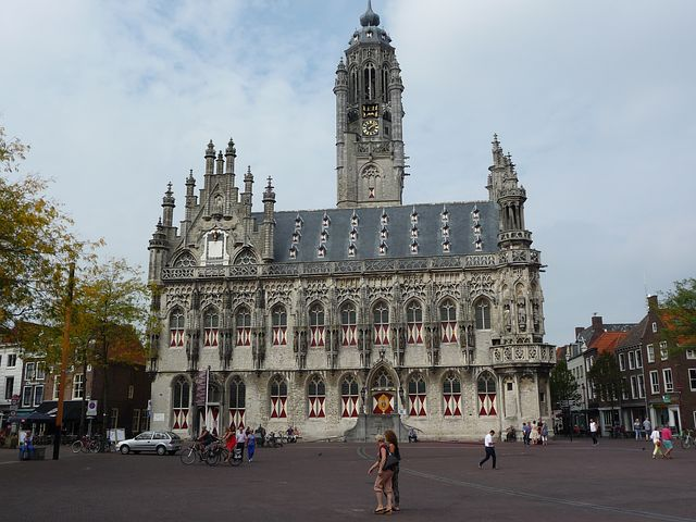 Middelburg, Town Hall, Market