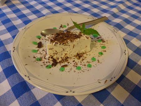 Panna Cotta, Dessert, Sweet, Delicious, Italy, Mint