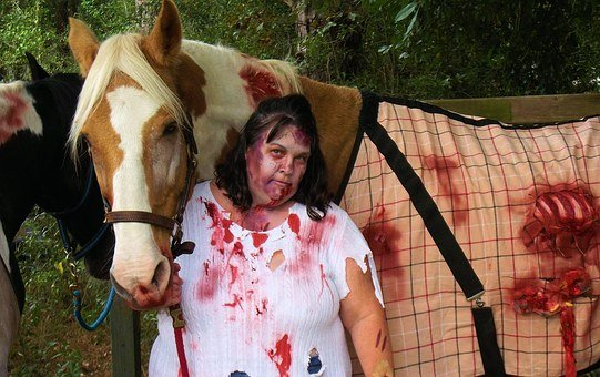 Zombie Horse, Zombies, Horse, Horror, Monster