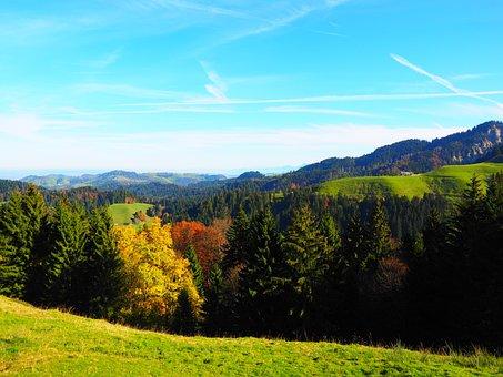 Mountain, Stallion, Hike, Destination, Switzerland