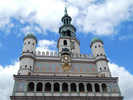 Poznan, City, The Old Town, Old Buildings, Poland