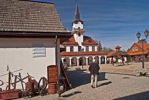 Galician Town, Replica, Town, Galician, Old, Device