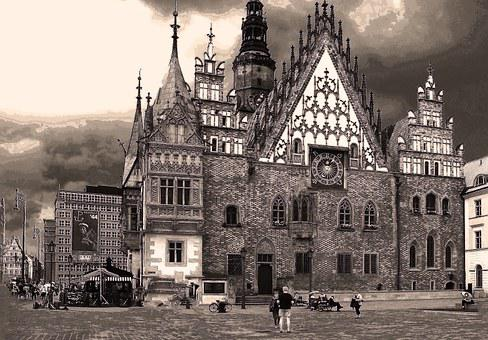 The Town Hall, Wrocław, The Market, Old Town