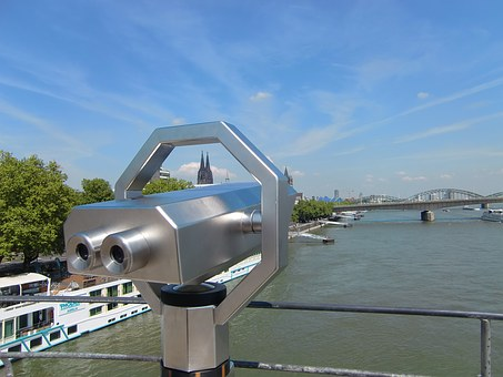 Cologne, Telescope, Binoculars, Distant View, Outlook