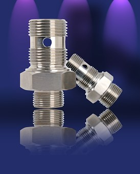 Thread, Screw, Metric, Rotary Part, Metal, Precision