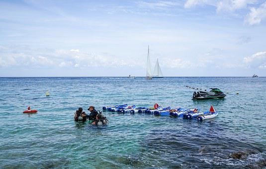 Cozumel, People, Person, Mexico, Caribbean, Sea, Water