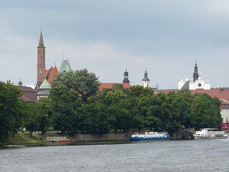 Wroclaw, Wrocław, Poland, Silesia, Church, Steeple