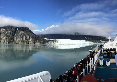 Cruise, Alaska, Glacier, Travel, Nature, Blue