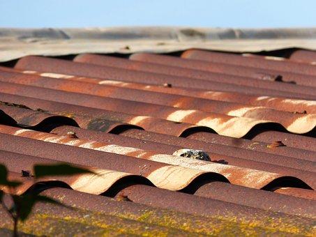 Roof, Uralita, Tin Roof, Barraca, Veneer Undulating