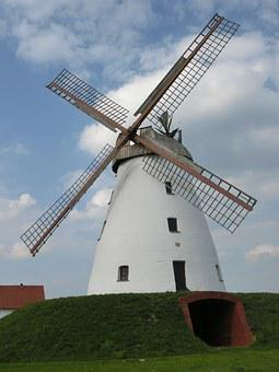 Windmill, Weser Uplands, Weser, Mill, Historically