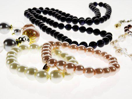 Jewellery, Pearl, Bangle, Necklace, Chain, Beautiful