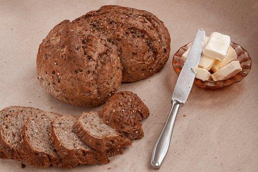 Bread, Food, Oil, Knife, Breakfast, Lunch, Flour