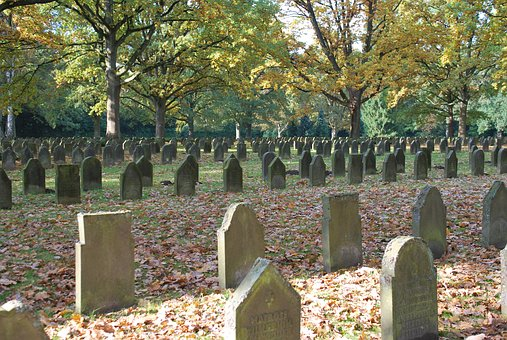 Architecture, Cemetery, Soldiers Graves, Past