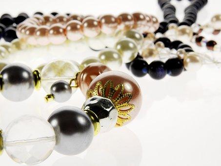 Jewellery, Pearl, Bangle, Necklace, Chain, Beautiful