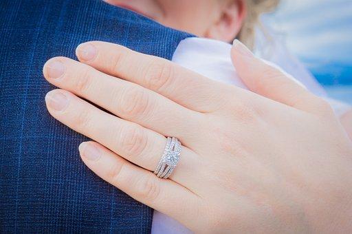 Ring, Groom, Wedding, Bride, Love, Couple, Married