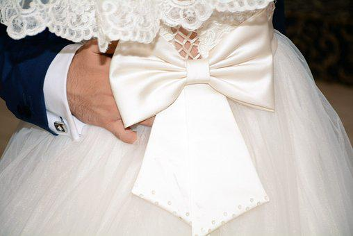 Wedding, Groom, Bride, Couple, Love, Woman, Man, Dress