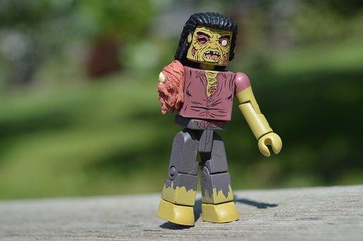 Zombie, Toy, Action Figure, Walking Dead, Undead, Doll