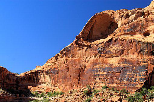 Canyon Lands, Arch, Sandstone, Colorful, Environment