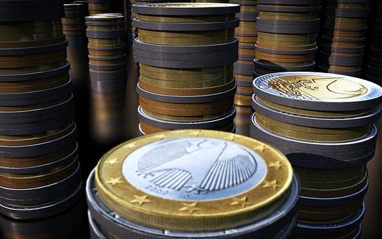 Coins, Money, Euro, Business, Trade, Dough, Beeping