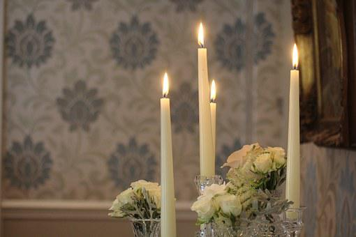 Candles, Wedding, Fire, Decor, Table, Decoration