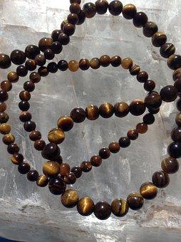 Tiger's Eye Beads, Gemstone, Gem, Stones, Natural Stone