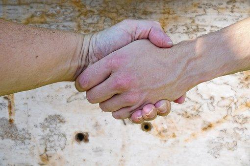 Hand, Hands, Handshake, Human, Hold Tight, Hand In Hand