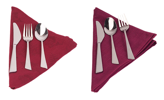 Cutlery, Laying, Napkin, Table, Table Setting