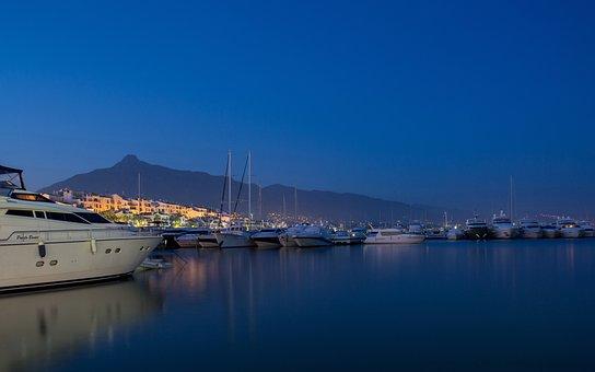 Yachts, Port, Marbella, Marina, Puerto Banus