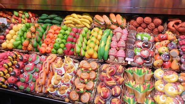Market, Almond Paste, Color