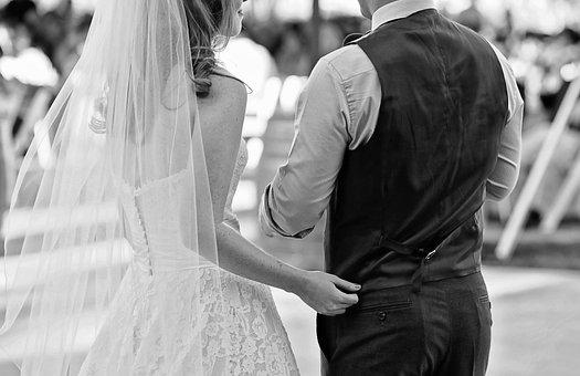 Wedding, Bride, Groom, Marriage, Love, Dress, Couple