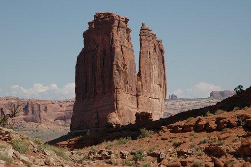 Arches National Park, Landscape, Moab, Utah, Park