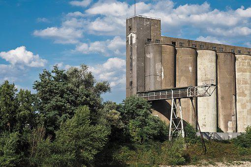 Lost Places, Silo, Broken, Old Building, Abandoned