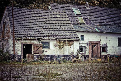 Lost Places, Building, Old, Lapsed, Leave, Ruin, Decay