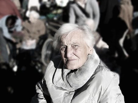 Dependent, Dementia, Woman, Old, Age, Alzheimer's