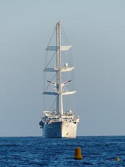 Sailing Vessel, Ozeanriese, Mega Yacht