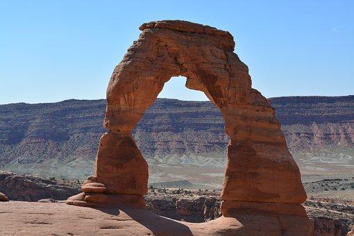 Arch, Nature, Landscape, Natural, Rock, Scenic, Travel