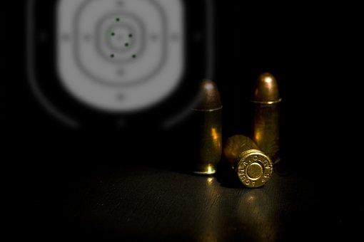 Ammunition, Target, 45 Acp, Ball, Shot, Sc, Shoot