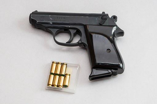 Pistol, Weapon, Hand Gun, Blank Gun, Shoot, Gun, Shot