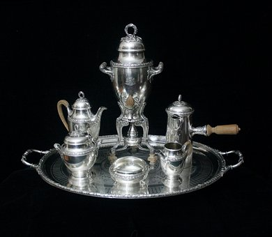 Sterling Silver Tea Sets, Sterling Silver Candelabra
