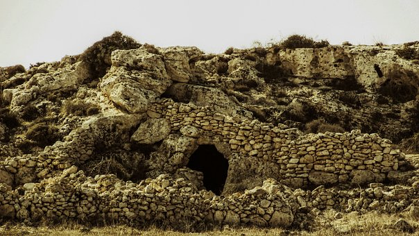 Cave, Corral, Stone Built, Stockraising, Abandoned, Old