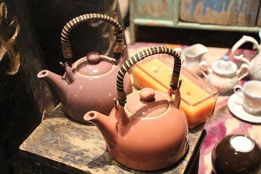 Teapot, Tea, Kettle, Tea Set