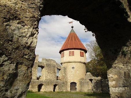 Castle, Fortress, Defensive Tower, Tower, Germany