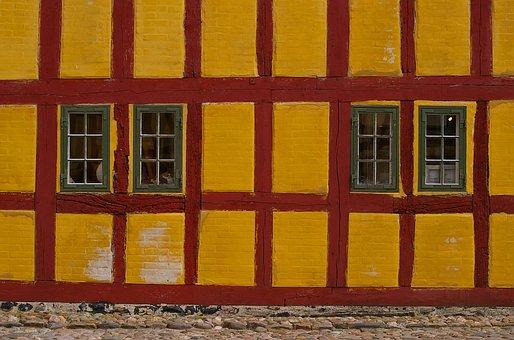 Truss, Fachwerkhaus, House, Historic Center, Old
