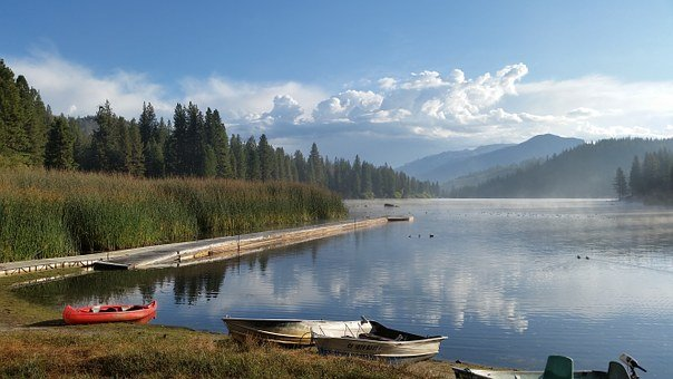 Hume Lake, California, Retreat, Landscape, Water