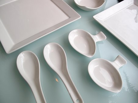 White, Cutlery Set, Restaurant, Utensil